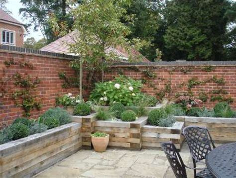 walled courtyard in seer green fyne design garden