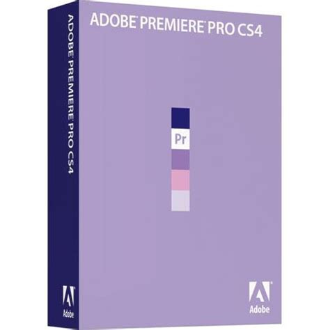 Expert Digital Editing With Adobe Premiere Pro Cs4 adobe premiere pro cs4 editing software 65020931 b h