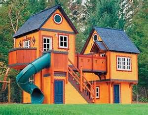House Design To Play 2 Story Playhouse Plans Wooden Bench Legs Garden