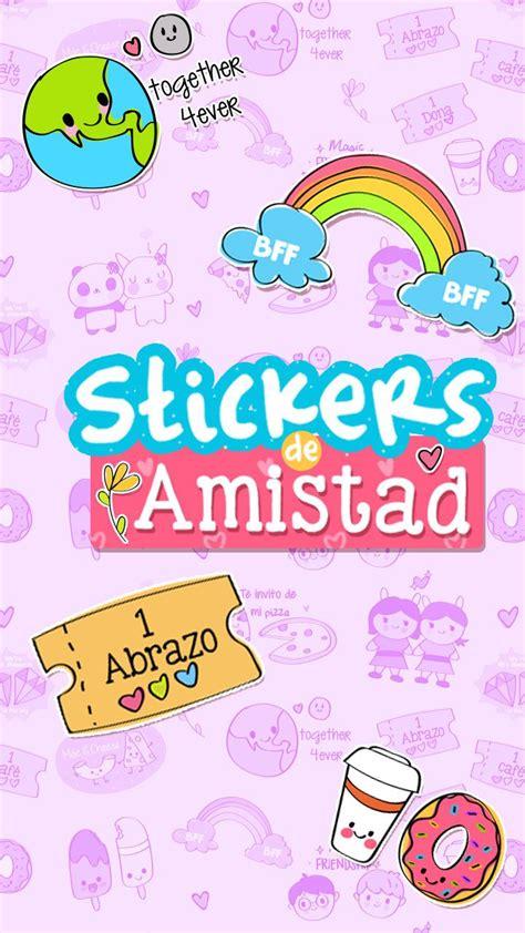 stickers descargables de amistad scrapbook pinterest