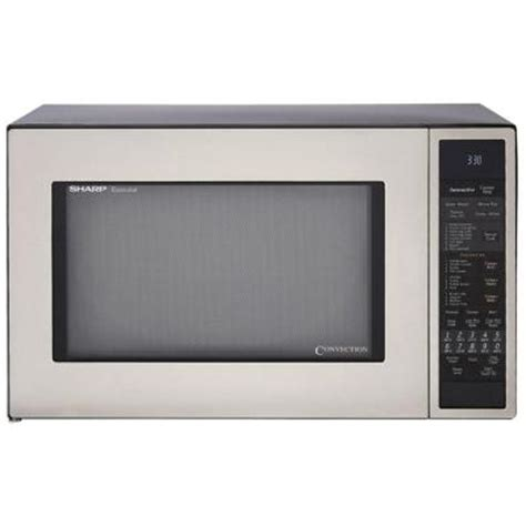 sharp 1 5 cu ft countertop convection microwave in