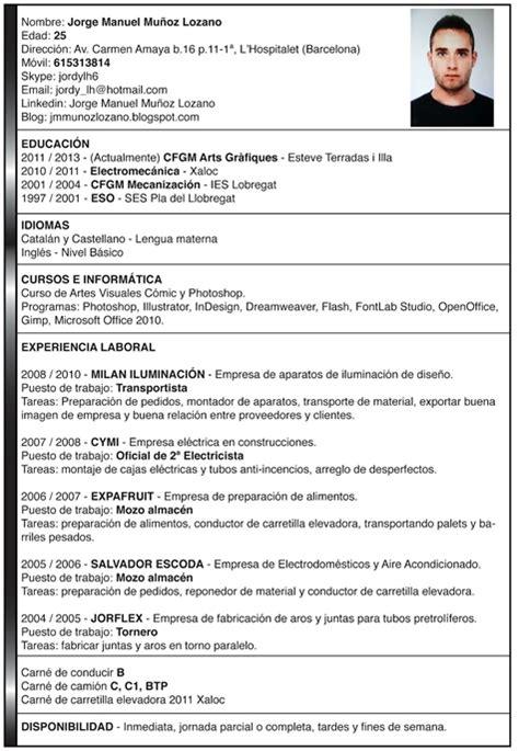 Ejemplo Curriculum Analista Financiero Como Hacer Un Curriculum Vitae Como Hacer Un Curriculum Joven