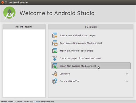 android studio import layout macos android studio import project from gradle stack