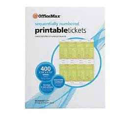 officemax templates officemax printable tickets 31 ideas