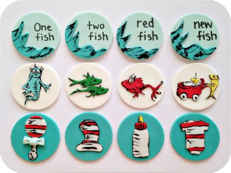 Dr Seuss Baby Shower Cupcakes by Dr Seuss Baby Shower Cupcake Toppers Www Pixshark