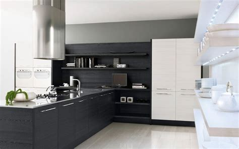 Modern Black Kitchen Cabinets Modern Kitchen Cabinet Design Photos Interiordecodir