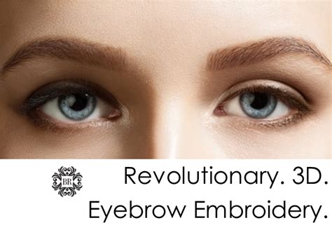 Embroidered Tattoo Eyebrows | 3d eyebrow tattoo eyebrow embroidery a revolutionary new