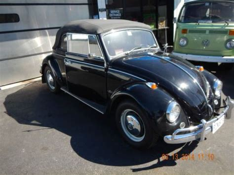 how does a cars engine work 1967 volkswagen beetle spare parts catalogs find used very rare to find black 1967 vw convertible beetle with 1493 cc engine in houston