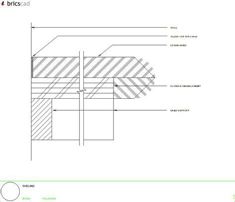 Corian Details Shelving Detail Aia Cad Details Zipped Into Winzip