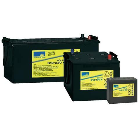 Solar Light Battery Rechargeable 12 V 230 Ah Gnb Solar Light Battery