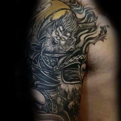 monkey king tattoo 60 monkey king designs for sun wukong ideas