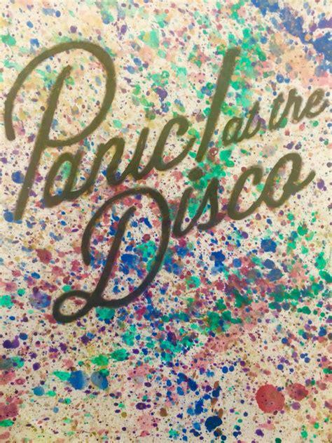 splatter panic disco cover brendon urie