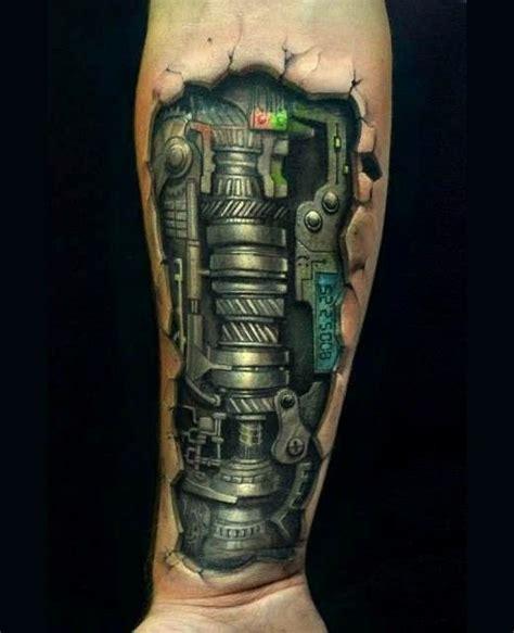 biomechanical tattoo ink master biomechanika mechanika tatuażewzory tatuaże dla