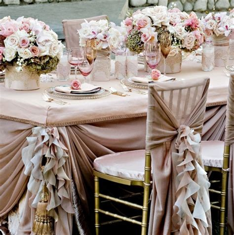 table linen decoration ideas archives weddings romantique