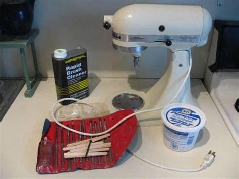 Kitchen Mixer Diy Diy Cleaning Your Kitchenaid Kitchen Aid Mixer The