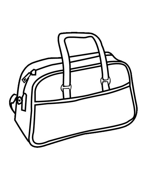 purses free colouring pages