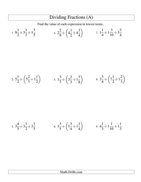 Math Worksheets For Middle School by Free Math Worksheets Middle School Math Help