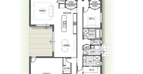 what layout features are important to the efficiency of a work center the cedarwood is a four bedroom home design with