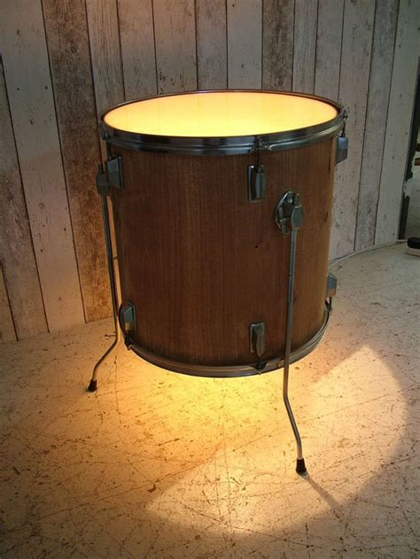Bedroom Table Ls Lighting Upcycled Drum Side Table Coffee Table Bedside Table L Light 163 125 Table Drums