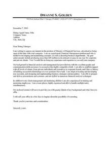 Cover Letter For Finance financial manager cover letter resume cover letter