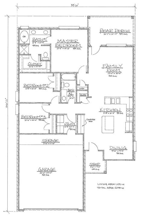 floor plan for 1500 sq ft house home floor plans under 1500 sq ft home deco plans