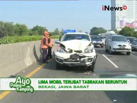 Spion Mobil Curian diduga panik pencuri mobil terlibat tabrakan beruntun
