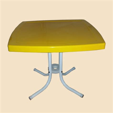 Yellow Metal Side Table Lawn Chairs 100 Plastic Patio Chairs Cheap Keter 3 Pc Al Simple Decoration Lot