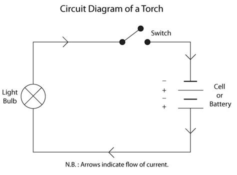 circuit diagram of a torch circuit diagram of a torch using standard circuit symbols