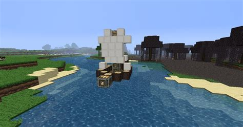 minecraft little boat small little boat minecraft project