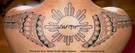tattoo designs philippines tribal sun philippine baybayin backpiece tattoomagz