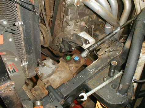 Suzuki Samurai Power Steering Conversion Samurai Power Steering Adapted From A Chevy S 10 Pg 2
