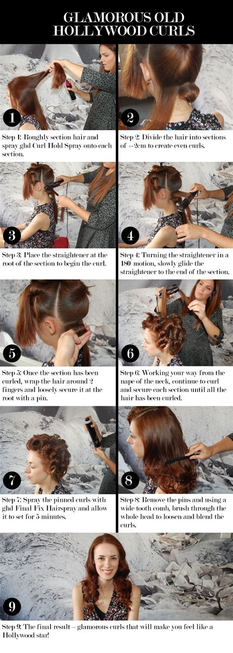 how to hairstyles classic curl step by steps ghd beautysouthafrica hair nails step by step classic