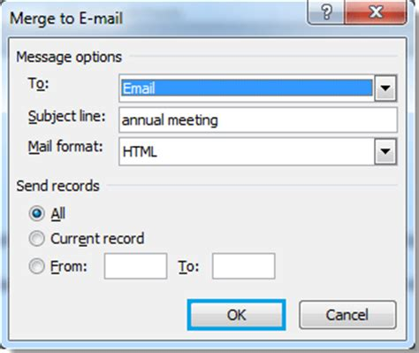 Office 365 Mail Won T Load How To Send Personalized Mass Emails In Outlook