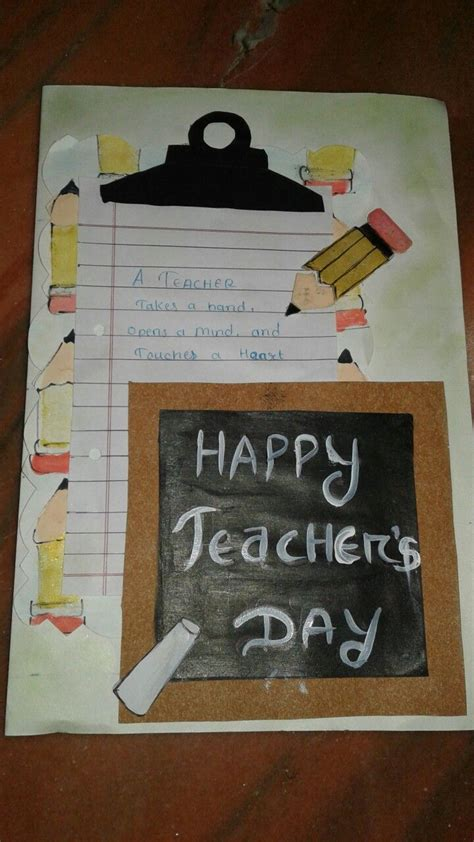 Handmade Cards For Teachers - the 25 best handmade teachers day cards ideas on