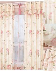 country bedroom curtains country floral and leaf printing modern patterned curtains