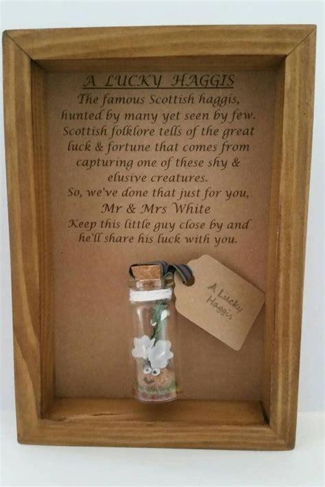 Scottish wedding, Gift for Scottish themed wedding
