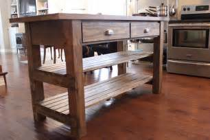Rustic Kitchen Island Plans by Rustic Kitchen Island Plans Kitchentoday