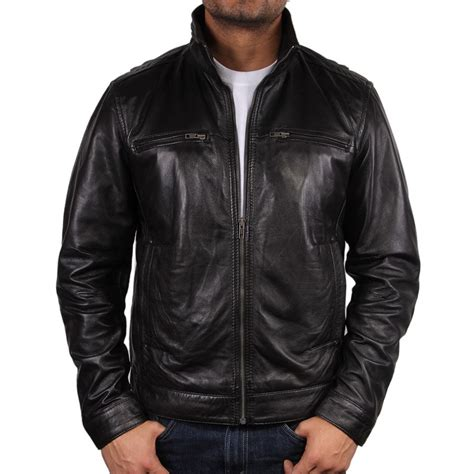 mens leather jacket s black leather jacket chicago