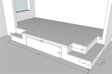 Construire Une Estrade by Estrade Lit Escamotable Cerca Con Mezzanine