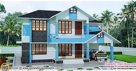 200 yard home design simple house in 200 square yards kerala home design and