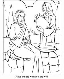 at the well coloring page at the well coloring page coloring home