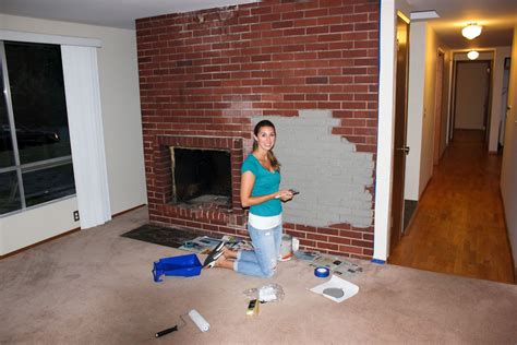 paint colors brick fireplace fireplace designs