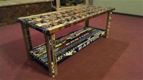 hockey stick coffee table image result for hockey stick coffee table basement