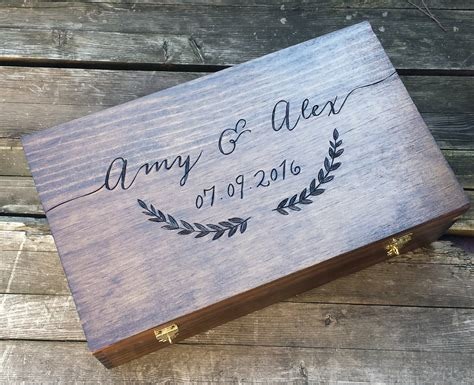 Wedding Gift Wine Box by Wedding Gift For Wine Wedding Wine Box Wine