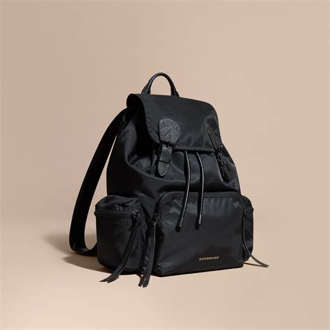 Tas Burberry 3 In 1 the rucksack backpack in technical and leather burberry