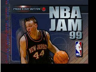 Mba Jam 3ds by Nba Jam 99 Nintendo 64 N64