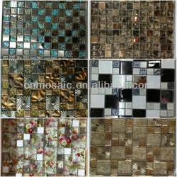 peel and stick instant mosaic for kitchen backsplash view