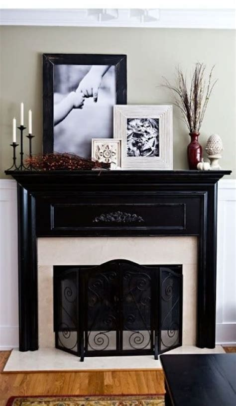 Bedroom Mantel Decorating Ideas by 1000 Ideas About Mirror Above Fireplace On