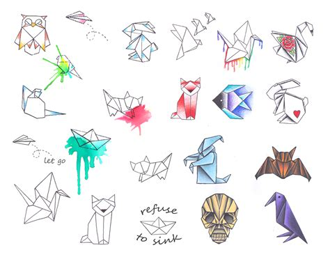 Origami Tattoos - august origami special and best shop