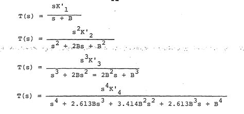high pass filter equation derivation patent wo1983002700a1 system for maximum efficient transfer of modulated energy patents
